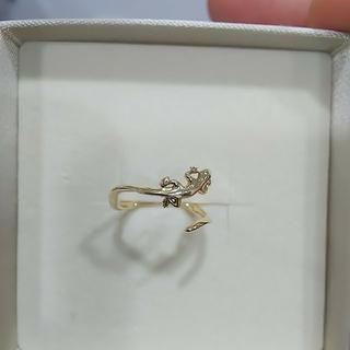 IMPRESSE/インプレッセ/K18/トカゲが巻き付いたリング/指輪(リング(指輪))