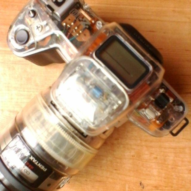 PENTAX(ペンタックス)のPENTAX  Z-10  希少スケルトンモデル 送料無料 スマホ/家電/カメラのカメラ(フィルムカメラ)の商品写真