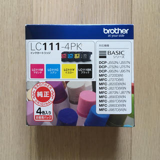 brother - 【未使用  新品】brother 純正インク LC111 -4PK  インク4個