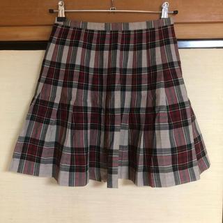 イーストボーイ(EASTBOY)のEAST BOY チェック柄スカート(ひざ丈スカート)