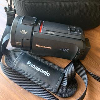 Panasonic - 【美品】パナソニック 4K ビデオカメラ 64GB HC-WX1M-K