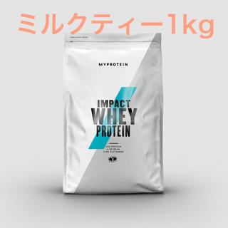 MYPROTEIN - マイプロテイン インパクトホエイプロテイン ミルクティー 1kg