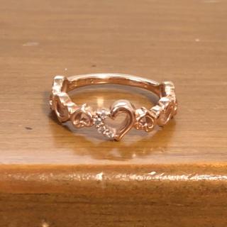 カナルヨンドシー(canal4℃)のカナル4°C ピンクゴールドリング K10(リング(指輪))