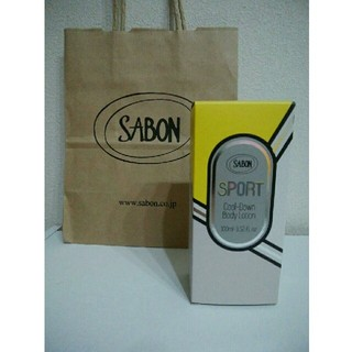 サボン(SABON)の新品未使用 SABON サボン SPORT クールダウンボディローション(ボディローション/ミルク)