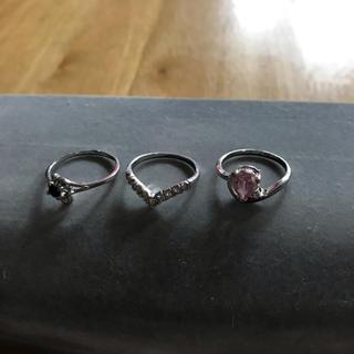 リング 15号 3個組  ①(リング(指輪))