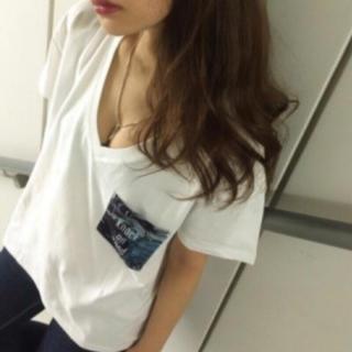 GYDA - GYDA♡リーフポケットTシャツ