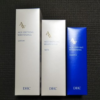 ディーエイチシー(DHC)の🍀【未開封】DHC*薬用エイジアホワイトシリーズ3点セット化粧水・乳液・美容液(化粧水 / ローション)