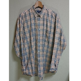 BURBERRY - バーバリー ノバチェックシャツ メンズXL