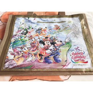 Disney - 【ディズニー35周年限定】グランドフィナーレ ショッピング バッグ