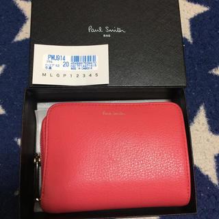 ポールスミス(Paul Smith)のポールスミス ハートプル 牛革折りたたみ財布(財布)