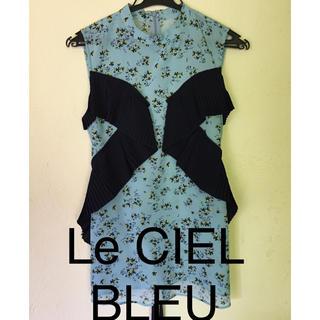ルシェルブルー(LE CIEL BLEU)のLE  CIEL  BLEUブラウス(新品未使用)(シャツ/ブラウス(半袖/袖なし))