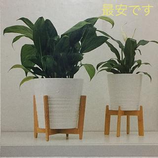 IKEA - イケアIKEA 竹製のプラントスタンド 大小で1セット