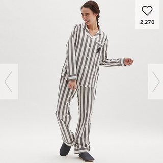 GU - アリス ストライプ パジャマ