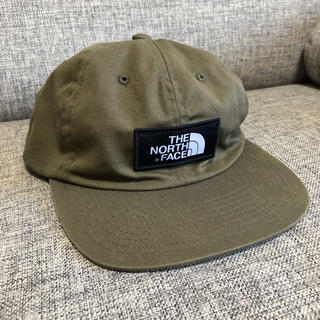 THE NORTH FACE - 国内未販売 the north face ベースボールキャップ カーキ