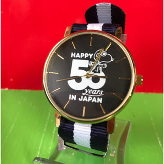 PEANUTS - 希少レア! HAPPY50Years IN JAPAN記念スヌーピー腕時計/美品