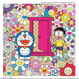 Supreme - お花畑の中の「どこでもドア」版画 村上隆 藤子・F・不二雄 ドラえもん