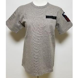 アヴィレックス(AVIREX)のAVIREX/NAVAL PATCH T-SHIRT☆Mサイズ新品タグ付き(Tシャツ/カットソー(半袖/袖なし))