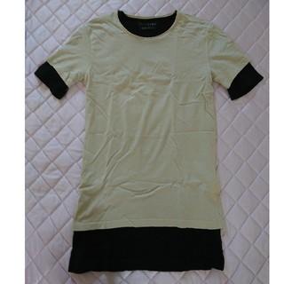 ZARA - ザラ ZARA MAN 重ね着 Tシャツ ロング S 38 メンズ
