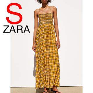 ZARA - ZARA チェック柄 チェック ワンピース