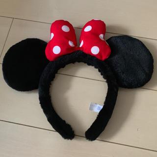 ミニーマウス(ミニーマウス)のディズニーリゾート ミニー カチュウシャ 耳(キャラクターグッズ)