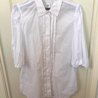ギャップ(GAP)のパフスリーブシャツ(シャツ/ブラウス(半袖/袖なし))