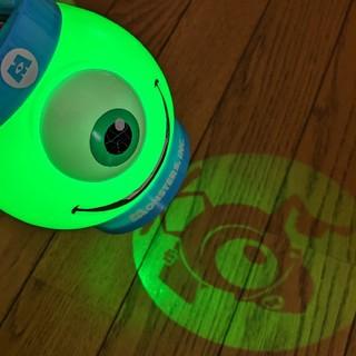 Disney - ディズニー ナイトパレードに! 光る!映る! マイク ライト 提灯
