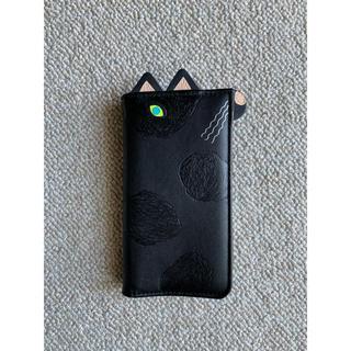 ネストローブ(nest Robe)のiPhone8/7ケース[手帳型]POCKET ANIMAL NIGHT CAT(iPhoneケース)