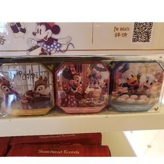 Disney - 香港ディズニー💐ミニーちゃん チプデ ドナルド 実写缶