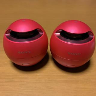 ソニー(SONY)のSONY SRS-X1 ワイヤレススピーカー ステレオセット(スピーカー)