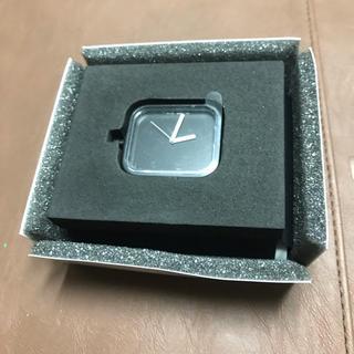 ムジルシリョウヒン(MUJI (無印良品))の無印良品 シリコンウォッチ 黒 文字盤 本体 定価3980円 腕時計 時計(腕時計(アナログ))