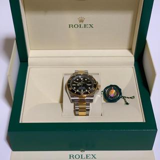 ロレックス(ROLEX)のロレックス ROREX サブマリーナ  黒 コンビ 116613LN 黒サブ(腕時計(アナログ))