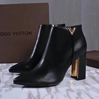 LOUIS VUITTON - LV  ハイヒール ブーツ モノグラム