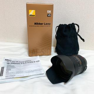 Nikon - Nikon ズームレンズ 18-200mm f/3.5-5.6G IF-ED