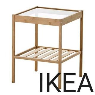 イケア(IKEA)のIKEAベッドサイドテーブルNESNA(コーヒーテーブル/サイドテーブル)