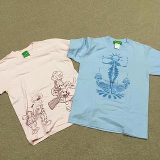 ビームス(BEAMS)のTシャツ 二枚セット(Tシャツ/カットソー(半袖/袖なし))