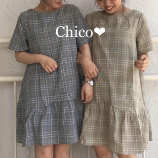 who's who Chico - 定価¥7,452❤︎裾ペプラムワンピ