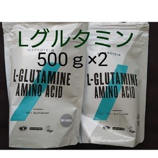 マイプロテイン(MYPROTEIN)のL グルタミンパウダー +プロテインココナッツ味(アミノ酸)