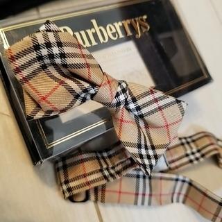 BURBERRY - バーバリーフォーマル バーバリージャケット バーバリー蝶ネクタイ スーツ 美品