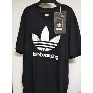 adidas - adidas Tシャツ 黒【新品タグ付】