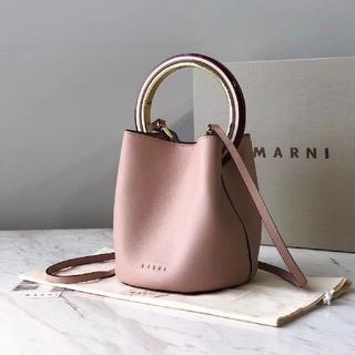 Marni - Marni マルニ パニエ ハンドバッグ ショルダーバッグ ピンク