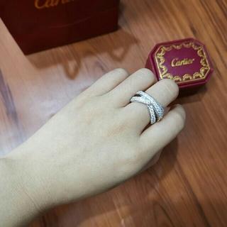カルティエ(Cartier)の美品 Cartier カルティエ  指輪 リング  レディース (リング(指輪))