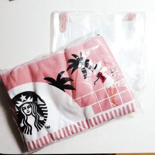 Starbucks Coffee - 韓国スタバ ノベルティ サマー ビーチ タオル バッグ セット