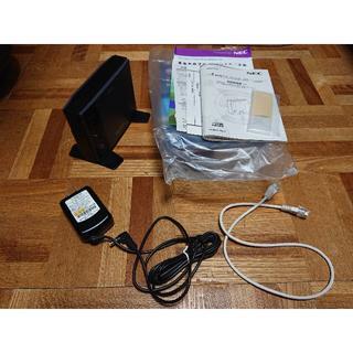 エヌイーシー(NEC)のワイヤレスイーサネットコンバーター(Aterm WL300NE-AG)(PC周辺機器)