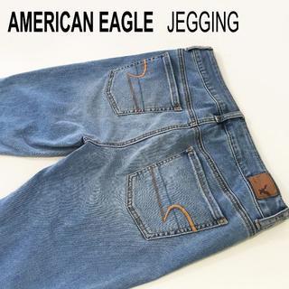 アメリカンイーグル(American Eagle)のAMERICAN EAGLE JEGGINGジェギング☆スーパーストレッチW79(デニム/ジーンズ)