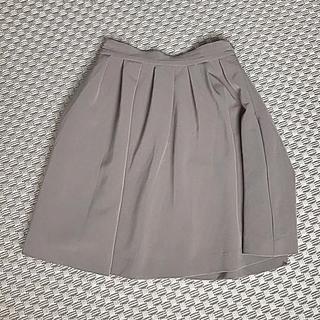 ハニーズ(HONEYS)のベージュフレアスカートサイズS オフィスカジュアル(ひざ丈スカート)