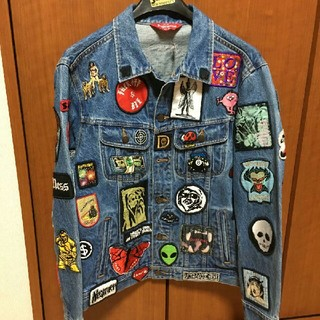 Supreme - supreme patches denim trucker jacket