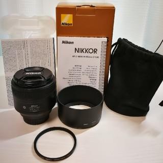 Nikon - AF-S NIKKOR 85mm f/1.8G レンズプロテクター付