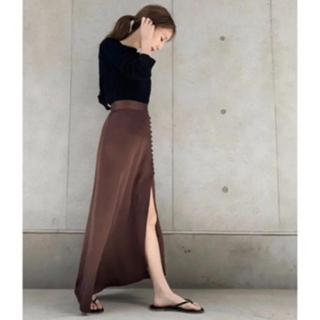 トゥデイフル(TODAYFUL)のlouren mermaid slit skirt(ロングスカート)