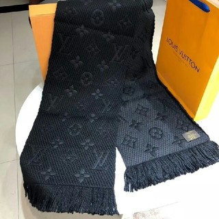 LOUIS VUITTON - Louis vuitton ルイ ヴィトン LV ロゴマニア マフラー