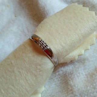 k10♪ホワイトゴールド★ダイヤリング(リング(指輪))
